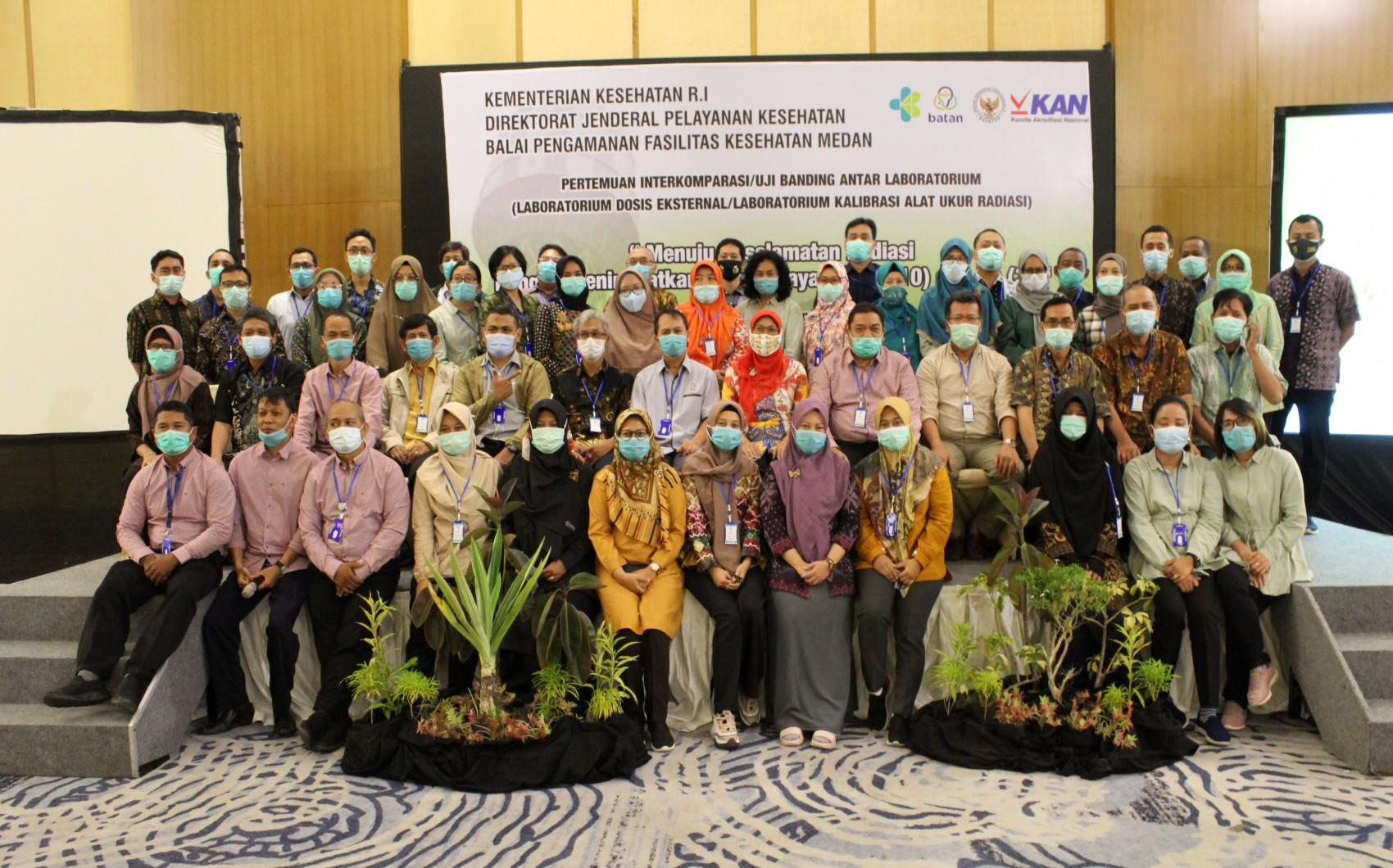 Pertemuan Interkomparasi / Uji Banding Antar Laboratorium Di BPFK Medan